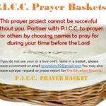 P.I.C.C. Prayer Baskets